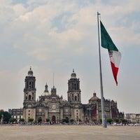 Foto tomada en Plaza de la Constitución (Zócalo) por Gerardo D. el 5/8/2013