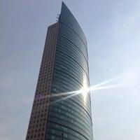 Photo taken at Torre Mayor by Gerardo D. on 4/17/2013