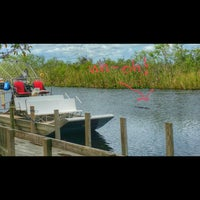 Photo taken at Buffalo Tiger's Airboat Rides by Anthony R. on 2/21/2016
