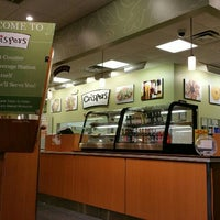 Photo taken at Crispers Fresh Salads, Soups and Sandwiches by Anthony R. on 6/17/2015