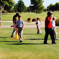 Photo taken at Aguila Golf Course by Brenda on 9/28/2013