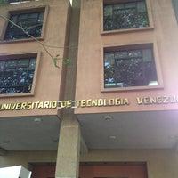 Photo taken at Instituto Universitario de Tecnología Venezuela - IUTV by Leonardo G. on 1/22/2013