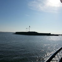 Photo taken at Fort Sumter National Monument by Daniel M. on 1/29/2013