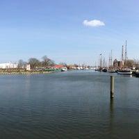 Photo taken at Museumshafen Greifswald by Tobi K. on 4/14/2013