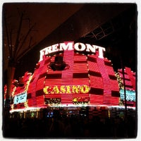 Photo taken at Fremont Hotel & Casino by Ron T. on 6/23/2013