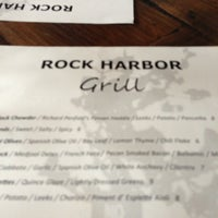 Photo taken at Rock Harbor Grill by Carlos N. on 8/19/2013