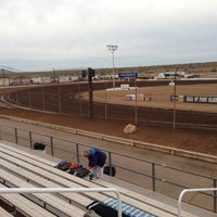 Photo taken at Canyon Speedway by Stephen W. on 11/15/2012