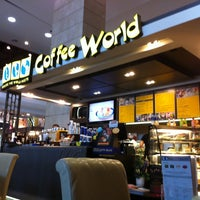 Photo taken at Coffee World by Nui R. on 10/26/2012
