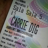 Photo taken at Cinemex MacroPlaza Tijuana by Florencio C. on 11/16/2013