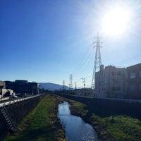 Photo taken at 新荒川橋 by ( ∩'-'⊂ )シュッ on 12/27/2015