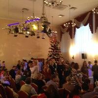 "Photo taken at Банкетный зал ""Премьер"" by Vadim M. on 12/21/2013"