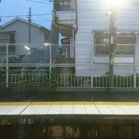Photo taken at 月見山駅(Tsukimiyama Sta.)(SY04) by 青い鳥のクマ on 5/10/2016