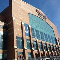 Photo taken at Lucas Oil Stadium by John M. on 11/25/2012