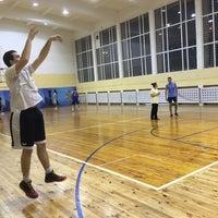 "Photo taken at Спортен комплекс ""Раковски"" by GeorgeS on 2/27/2016"