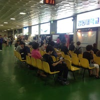 Photo taken at East Seoul Intercity Bus Terminal by 엉거 이. on 7/24/2013