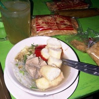 Photo taken at Bakso Tenis by Mohamad T. on 8/5/2013