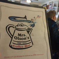 Photo taken at Mrs. Olsen's Coffee Hut by Tim O. on 5/30/2015