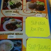Photo taken at Restoran Satay Anika by Muhammad Syukri A. on 3/7/2013