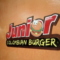 Photo taken at Junior Colombian Burger by Ken S. on 3/22/2013