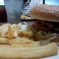 Photo taken at Denny's by Monica S. on 10/8/2012