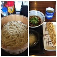 Photo taken at Marugame Seimen by msmw on 4/1/2016