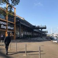 Photo taken at Jones Bay Wharf by Mustafa O. on 2/18/2018