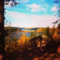 Photo taken at Большое Градуевское озеро by Ignaty A. on 10/5/2013