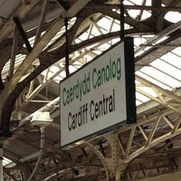 Photo taken at Cardiff Central Railway Station (CDF) by Justin H. on 6/22/2013