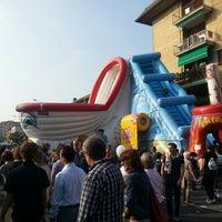 Photo taken at Via Borgo Palazzo by MDD on 9/28/2014