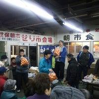 Photo taken at 佐世保朝市 by rantom on 12/25/2015
