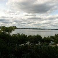 Photo taken at Rose Larisa Memorial Park by Jackie O. on 10/8/2012