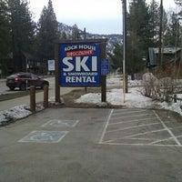 Photo taken at Rock House Discount Ski & Snowboard Rentals by Patrick B. on 2/14/2016