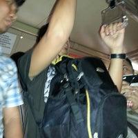Photo taken at LRT 1 (Quirino Station) by Jizeru G. on 4/12/2013