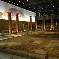 4/4/2013 tarihinde Muzaffer G.ziyaretçi tarafından Zeugma Mozaik Müzesi'de çekilen fotoğraf