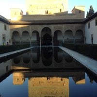 Photo taken at La Alhambra y el Generalife by slys on 12/24/2012