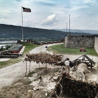 Photo taken at Fort Ticonderoga by Cari on 8/1/2013