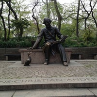 Photo taken at Hans Christian Andersen Statue by Cari on 4/28/2013