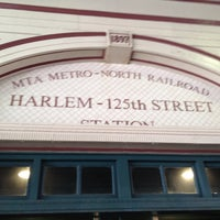 Photo taken at Metro North - Harlem - 125th Street Station by Cari on 6/22/2013