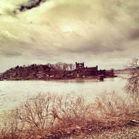 Photo taken at Bannerman Island (Pollepel Island) by Cari on 3/22/2013