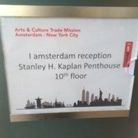 Photo taken at Stanley H. Kaplan Penthouse by Cari on 9/9/2016