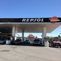 Photo taken at Gasolinera Repsol by David M. on 5/3/2013