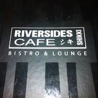 Foto tirada no(a) Riversides Shikki Cafe por Leonardo A. em 11/2/2012