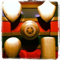 Photo taken at Captain America: The Living Legend and Symbol of Courage by Trent V. on 3/5/2014