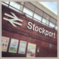 Photo taken at Stockport Railway Station (SPT) by TechDave D. on 2/4/2013