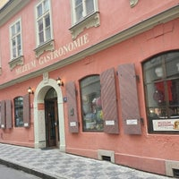 Photo taken at Muzeum gastronomie by Ирина О. on 6/29/2014