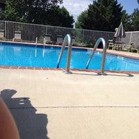 Photo taken at pool side at DE's & JF's by Jon M B. on 7/22/2014