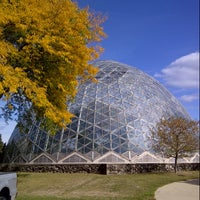 Photo taken at Mitchell Park Horticultural Conservatory (The Domes) by Jaime H. on 10/8/2012