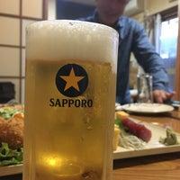 Photo taken at 大衆割烹ことぶき by shioiri on 4/20/2018
