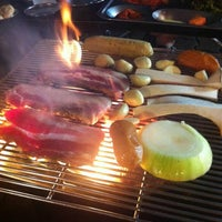 Photo taken at Outdoor Grill by Marcie G. on 7/11/2013