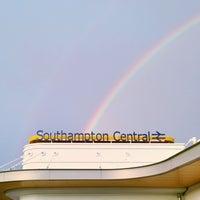 Photo taken at Southampton Central Railway Station (SOU) by Chris W. on 1/1/2013